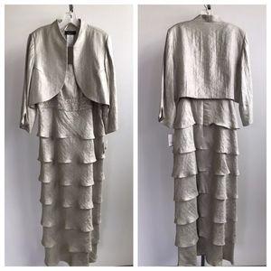 R&M Richards Formal 2 Piece Dress